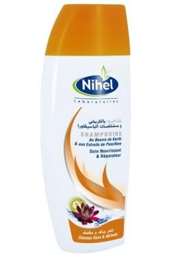 shampooing au beurre de karité et de passiflore - Nihel