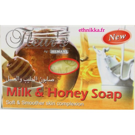 Savon visage au lait et miel nourrissant