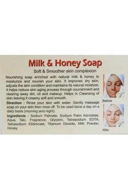 Savon soin visage au lait et miel nourrissant