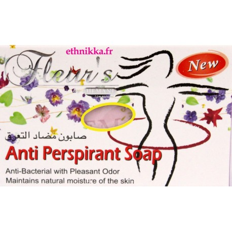 Savon anti transpirant déodorant
