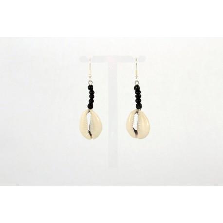 Boucles d'oreilles africaines pendantes