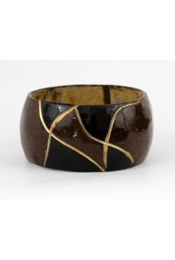 Bracelet en coque de coco