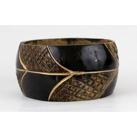 Bracelet africain en coque de coco