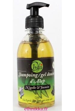Shampoing Gel Douche au Jasmin et Nigelle Chifa
