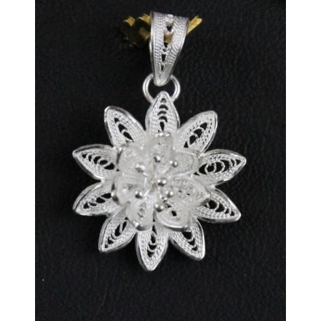 Bracelet bijoux argent filigrane coeur