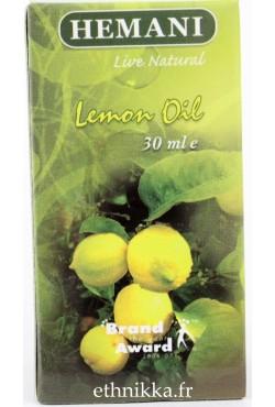 Huile de citron Hemani