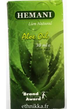 Hemani soin cheveux et peau huile aloe vera