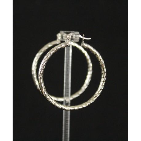 Boucles d'oreilles bijoux créoles