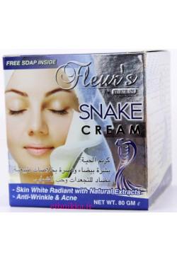 Créme huile de serpent Fleur's Hemani