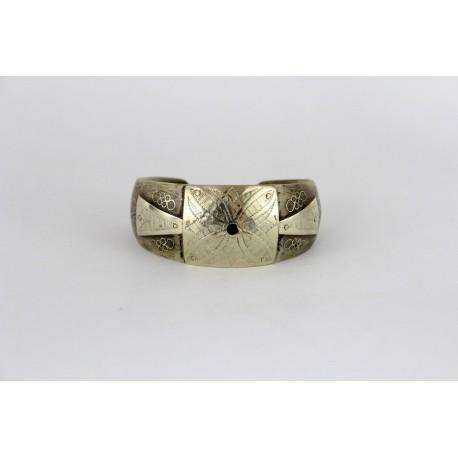 Bracelet touareg motif floral