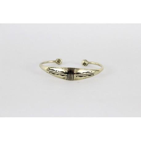 Bracelet touareg femme en argent