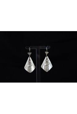 Boucles d'oreilles ciselé bijoux Touareg