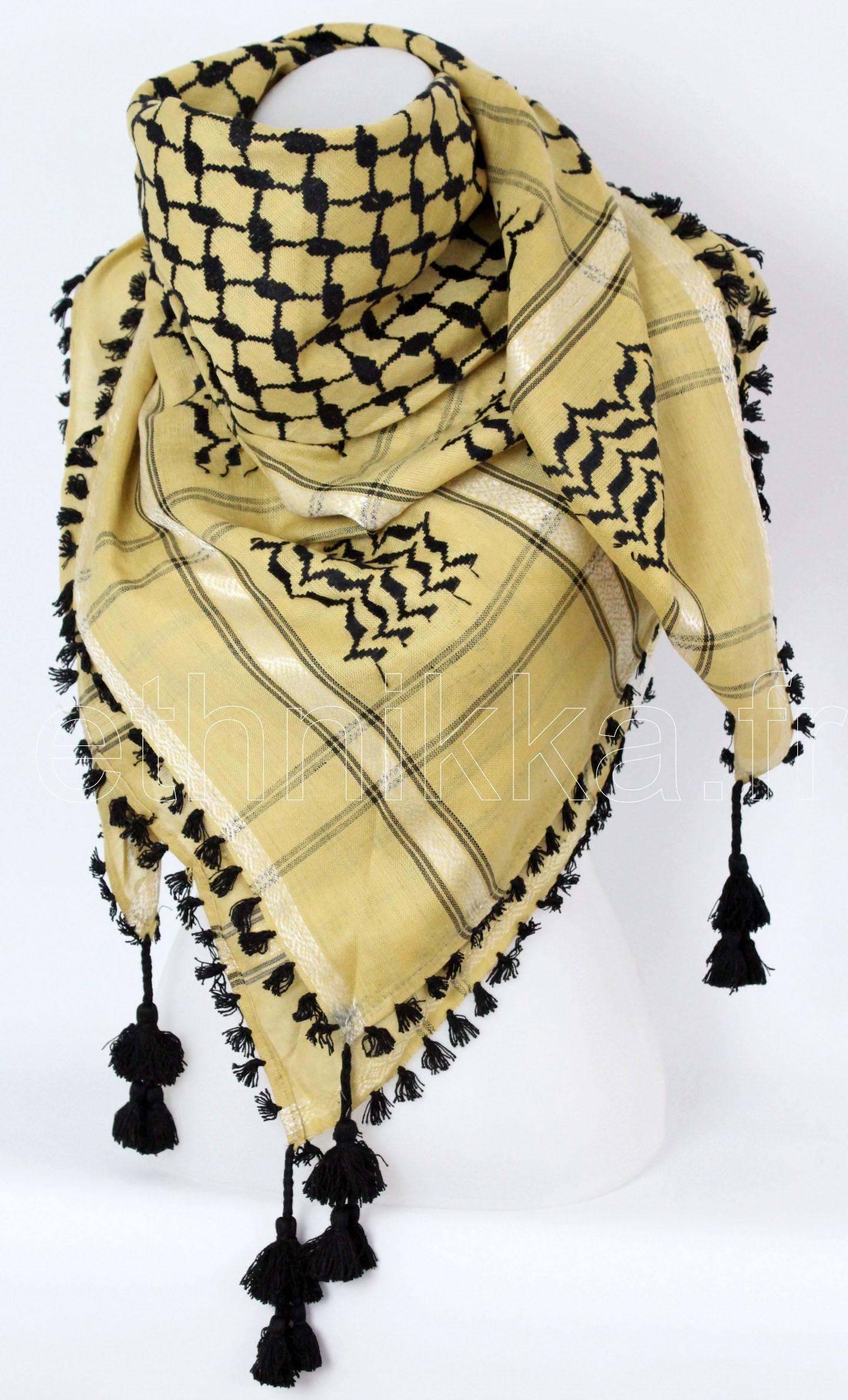 Keffieh   Acheter écharpe Palestine - Ethnikka.fr 73a1cec649f