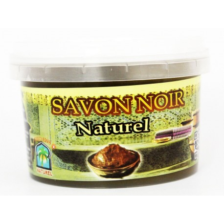 Savon noir naturel écologique black soap