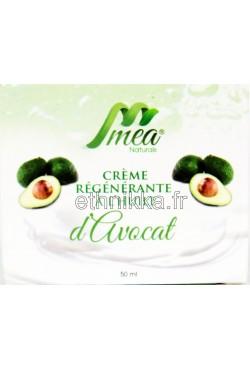 Crème Mea à l'huile d'avocat régénérante anti-rides