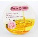 Sucre épilation cire orientale au miel et à l'essence de rose
