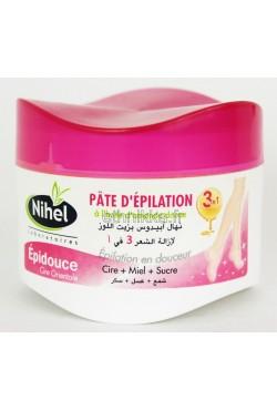 Pâte d'épilation cire orientale Nihel efficace 3 en 1 cire orientale