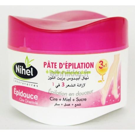 Pâte d'épilation 3 en 1 Nihel efficace