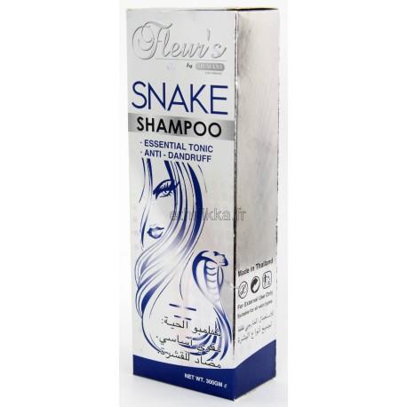 Shampoing à l'huile de serpent anti-pelliculaire Hemani Fleur's