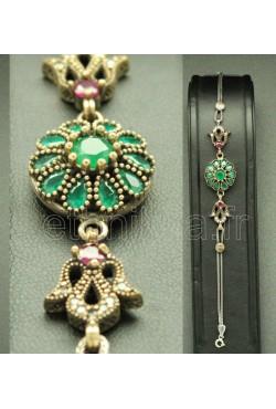 Bracelet glamour en argent hareem sultan