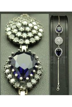 Bracelet de mariage en argent hareem sultan