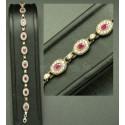 Bracelet serti de pierres bijoux de Turquie