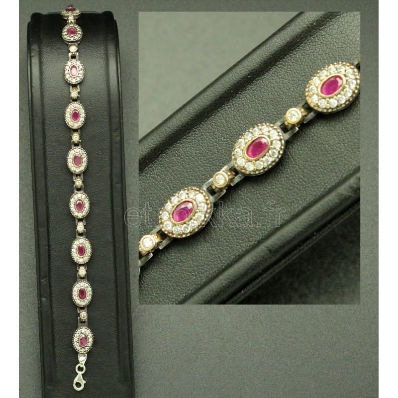 acheter bijoux turquie bracelet serti de pierres semi. Black Bedroom Furniture Sets. Home Design Ideas