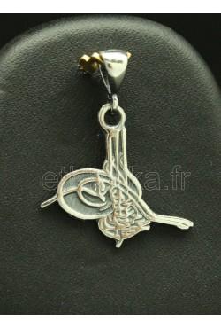 Pièce unique bijoux de Turquie en argent hareem sultan