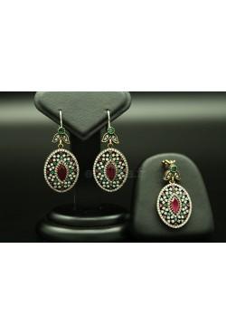 Bijoux ovales de Turquie harim soltan