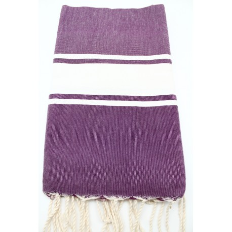 Fouta traditionnelle tissage plat