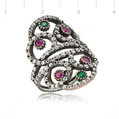 Bijou Takbir 925 carat anneaux femmes