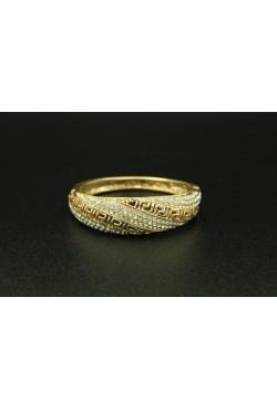 Bijou oriental bracelet en plaqué or design