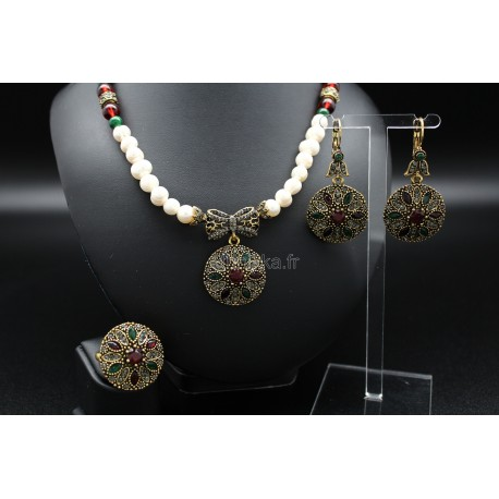 Bijoux orientaux parure de Turquie harim sultan