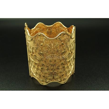 Bijou oriental bracelet en plaqué or moderne