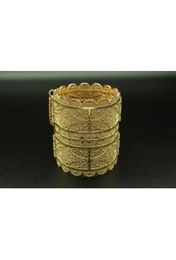 Bijou oriental bracelet aile d'ange en plaqué or