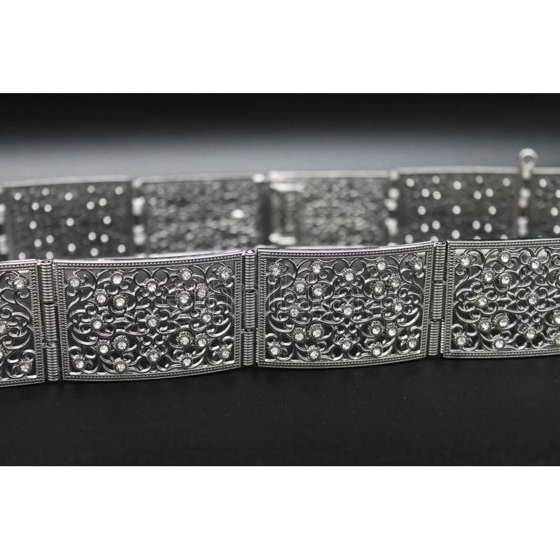 Acheter bijou oriental ceinture filigrane plaqué en argent a4b96f50e5a