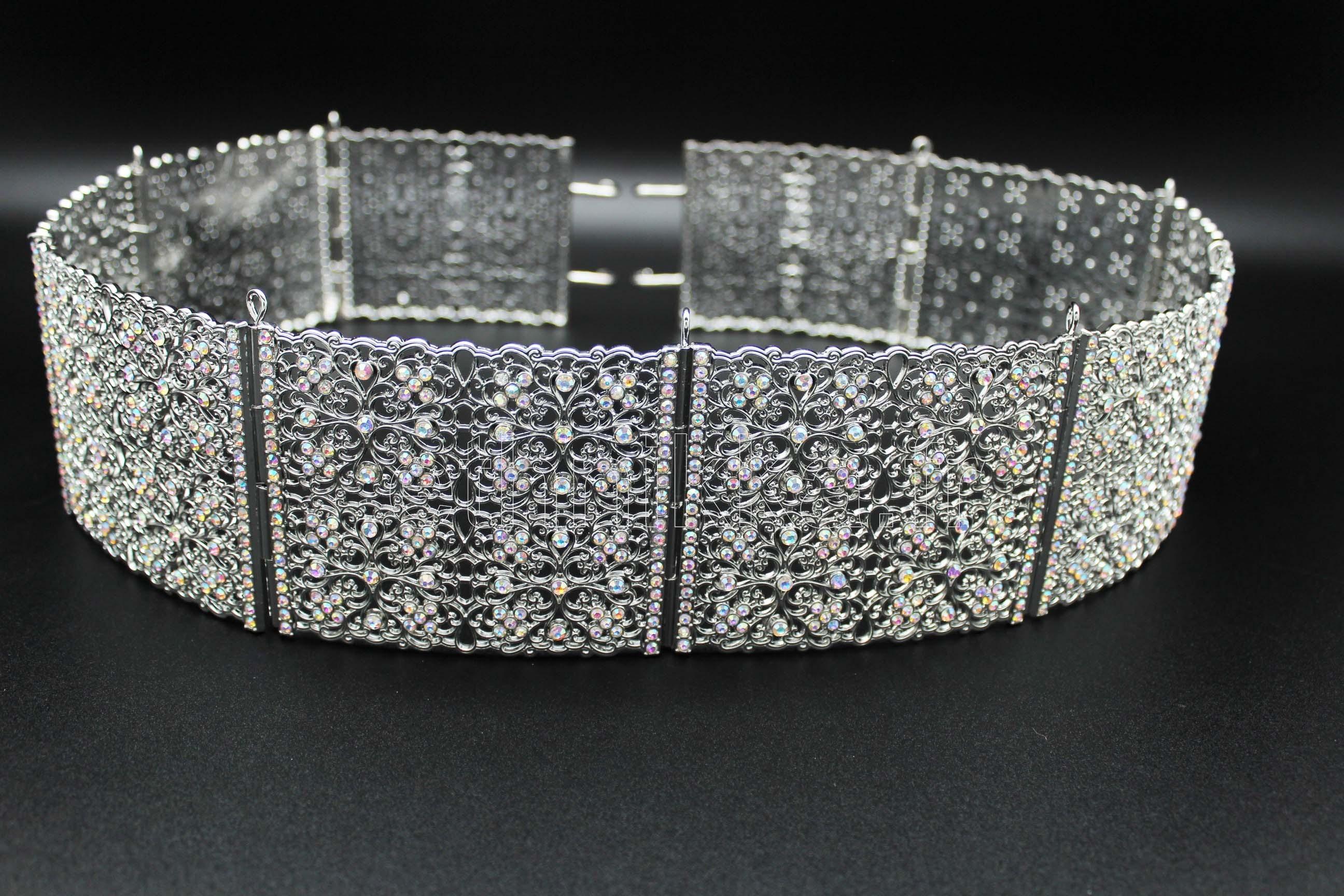 Acheter bijou oriental en métal ceinture plaqué argent 4bda3a3629a