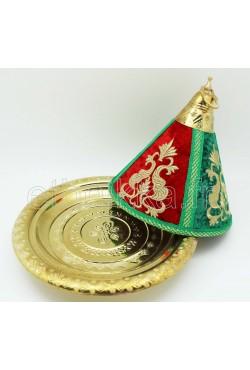 Assiette marocaine plus cloche