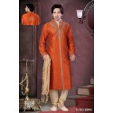 Tenue indienne orange