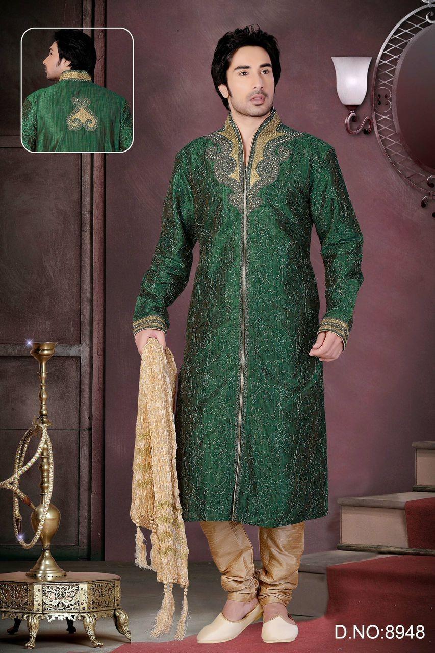 Très Tenue orientale acheter une tenue indienne de marié sherwanis pour  NW64