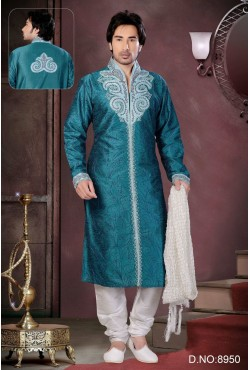 Tenue indienne turquoise