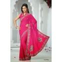 Robe indienne violette