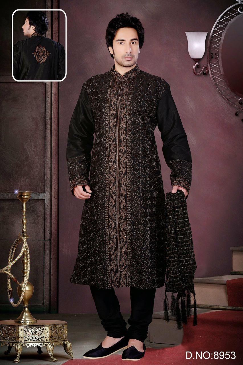Exceptionnel Tenue orientale acheter une tenue indienne de marié sherwanis pour  DJ42