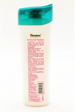 Anti-Hair Fall Shampoo Himalaya prévient la chute de cheveux
