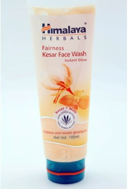 Himalaya soin du visage fairness kesar face wash