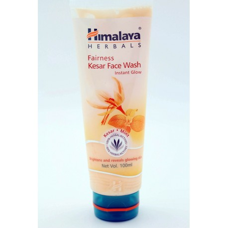 fairness kesar face wash himalaya