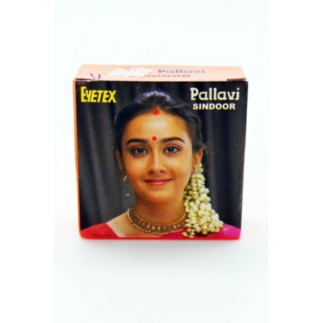 Bindi kumkum eyetex en pate point rouge