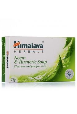 Himalaya savon soin du visage et de la peau au neem et curcuma