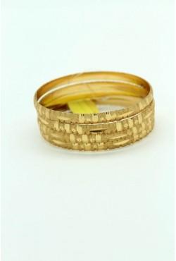 Bracelet bijoux indiens plaqués or