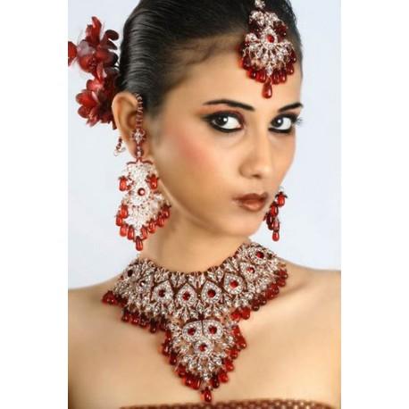 Parure indienne bijoux mariage bollywood